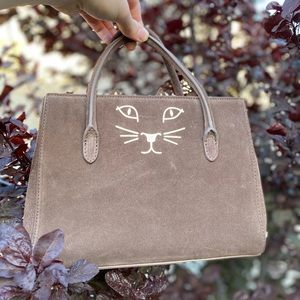 Charlotte Olympia Feline Petit Poitier Tote Bag